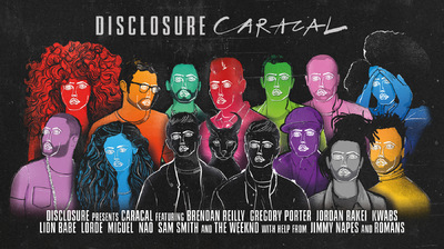 Studio Moross - Disclosure Collaborators Poster