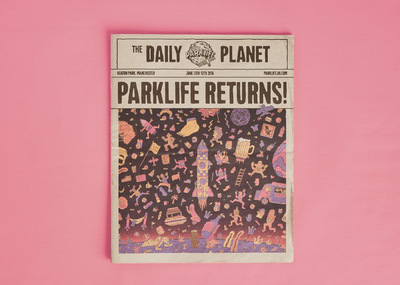 Studio Moross - Parklife x Crack Magazine x SM