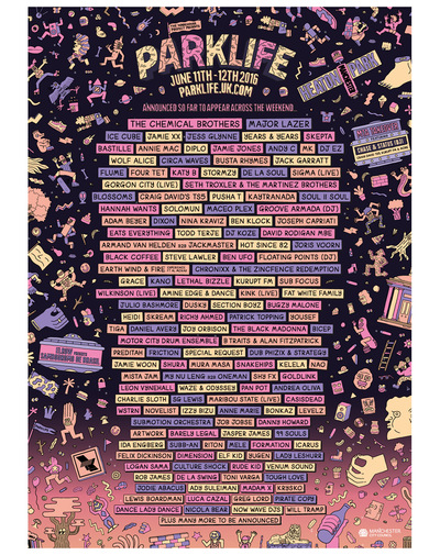 Studio Moross - Parklife 2016
