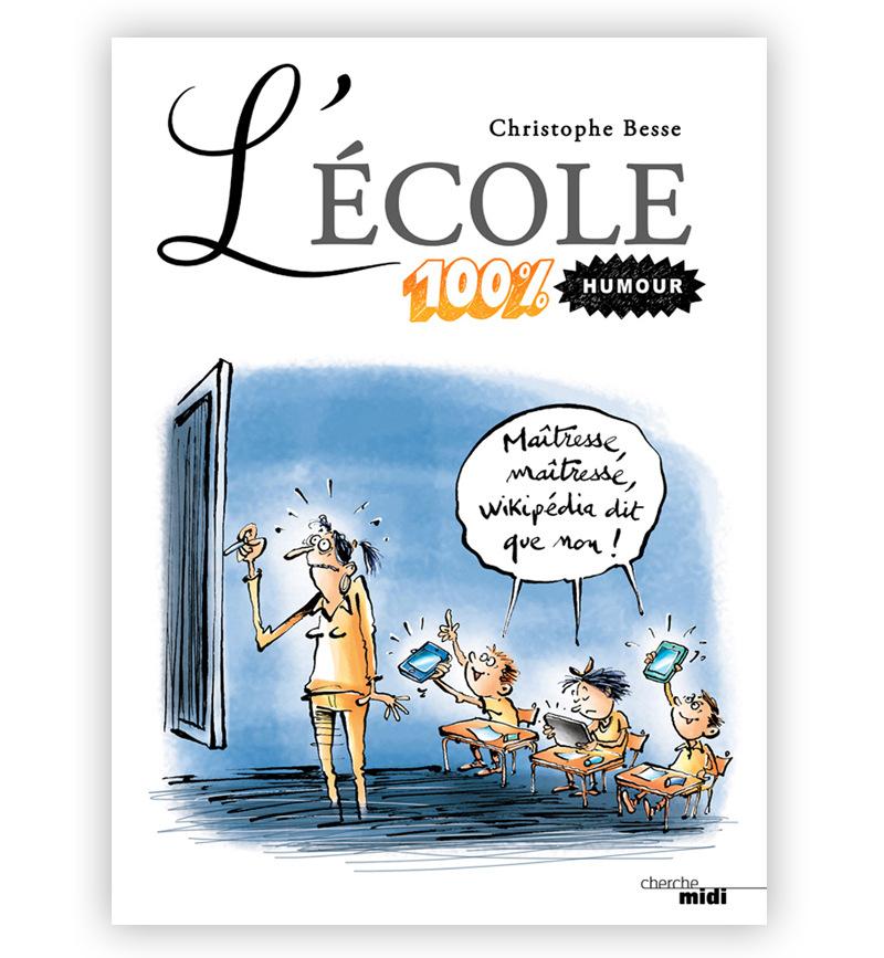 christophe besse - La couverture de mon livre sur lécole paru en 2012 au Cherche Midi. Que cest difficile dêtre enseignant lorsque la transmission des savoirs se heurte au fourre tout numérisé disponible sur la toile !