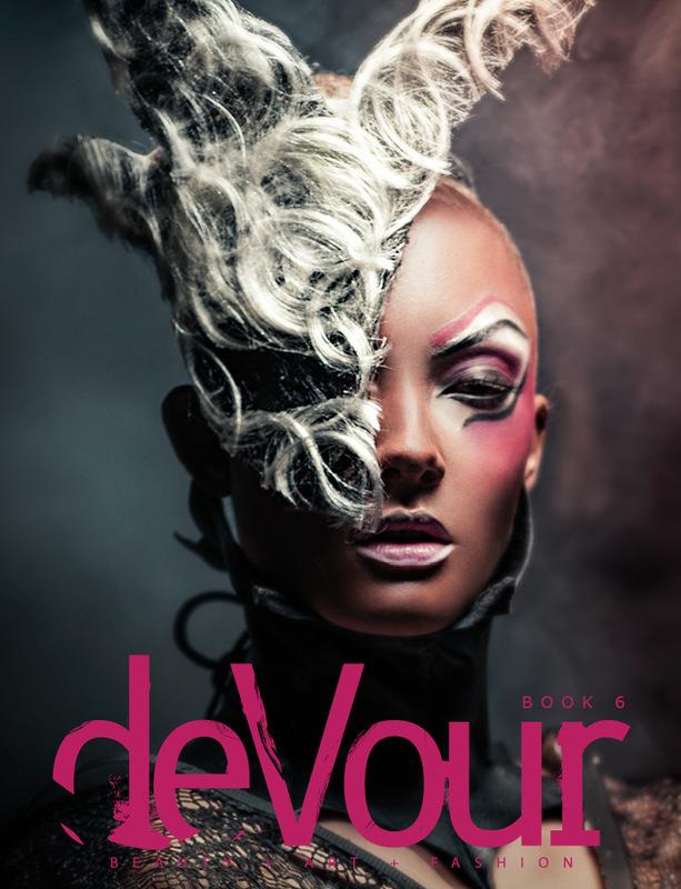 Louise-Eugénie Broquet - Cover DeVour Magazine (USA) Book 6 January 2015