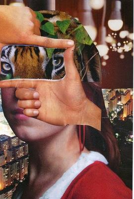 Luciana Caputo - collagetechniek  CKV Streetwise
