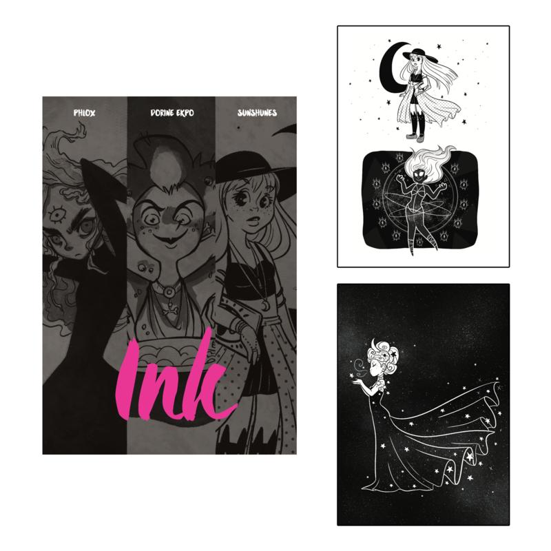 Sunshunes - Artbook Collectif - Ink (2017)