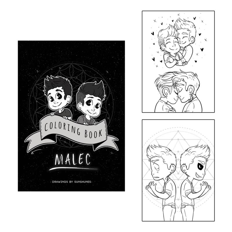 Sunshunes - Coloring Book - Malec Vol. I (2017)