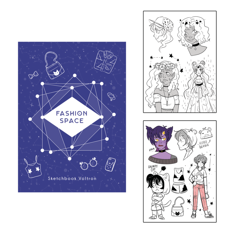 Sunshunes - Sketchbook - Voltron (2018)