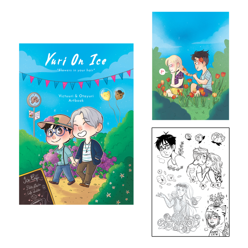 Sunshunes - Artbook - YOI (2018)