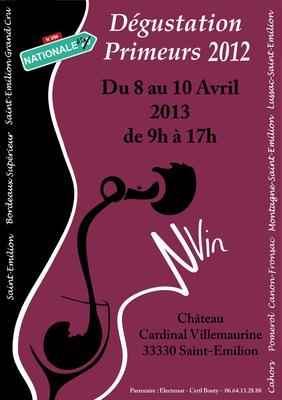 JD - Dégustation Primeurs 2012 Saint-Emilion