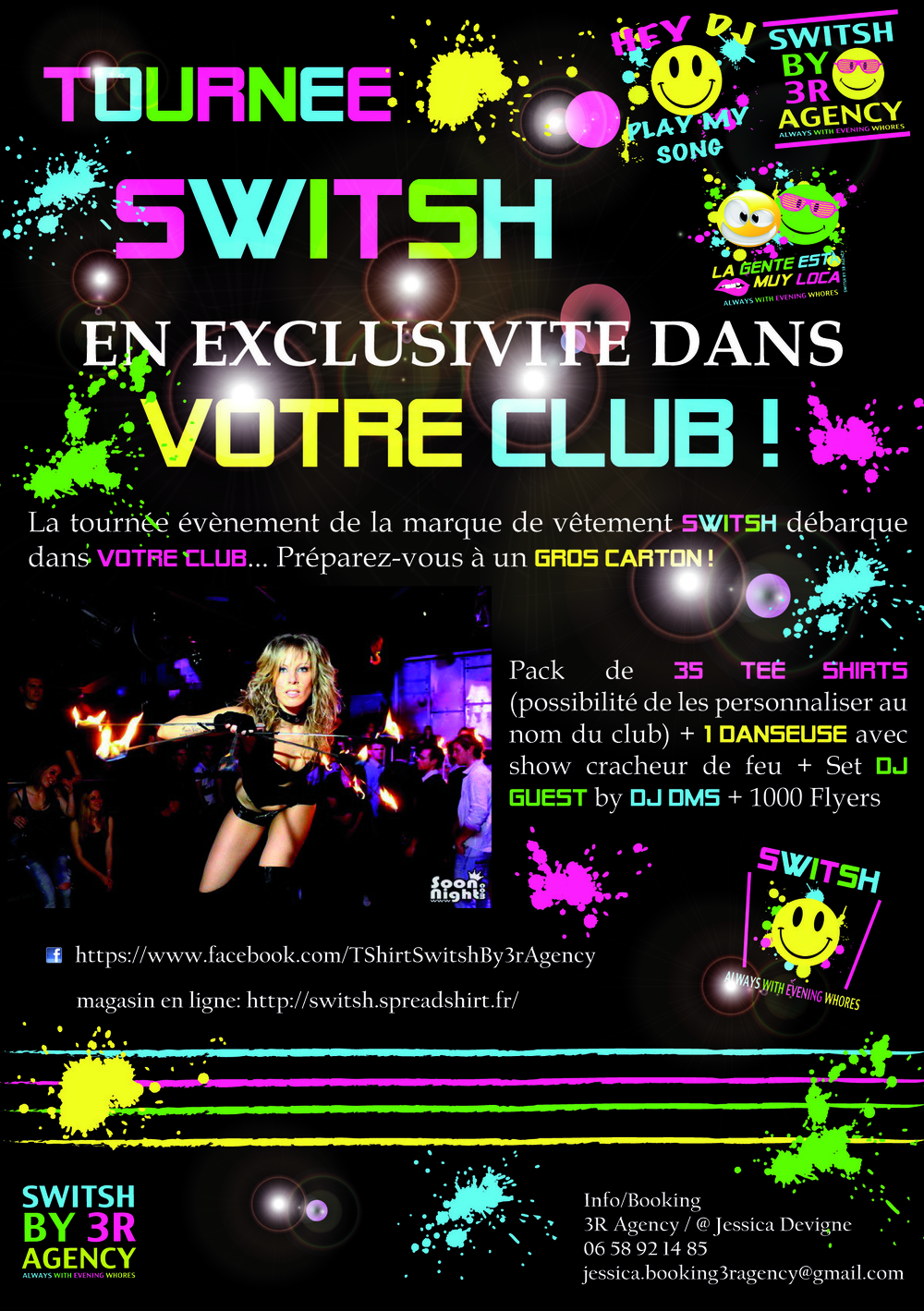 JD - Tournée Event Switsh pour 3R Agency