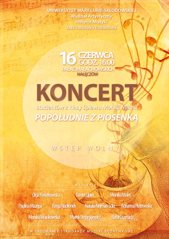 Moczydlowski projects - Koncert Popołudnie z Piosenką. UMCS