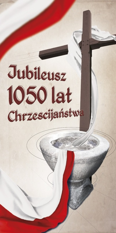 Moczydlowski projects - baner 1050 lat Chrztu Polski