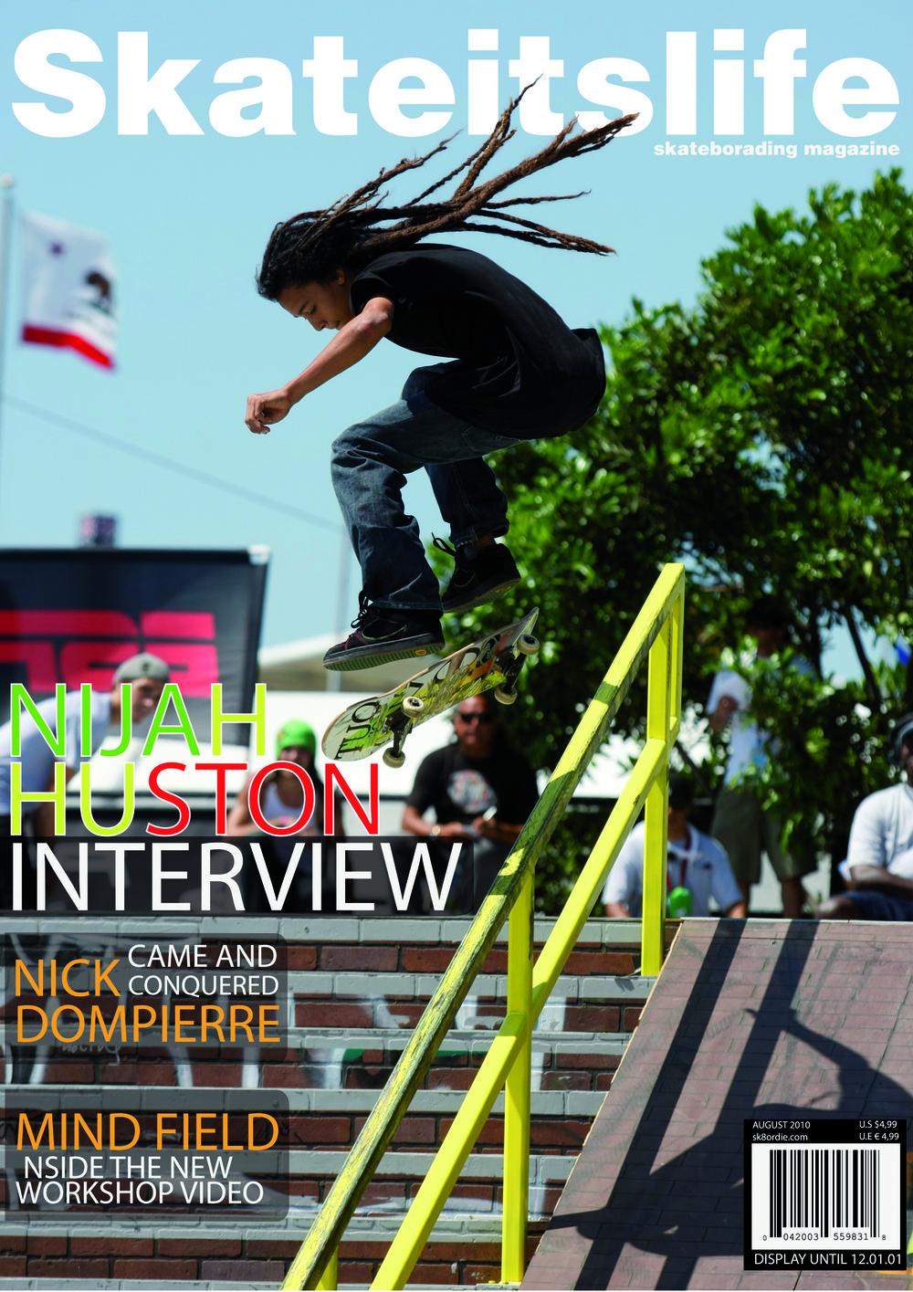 MausoLeiro - Portada revista skateboard