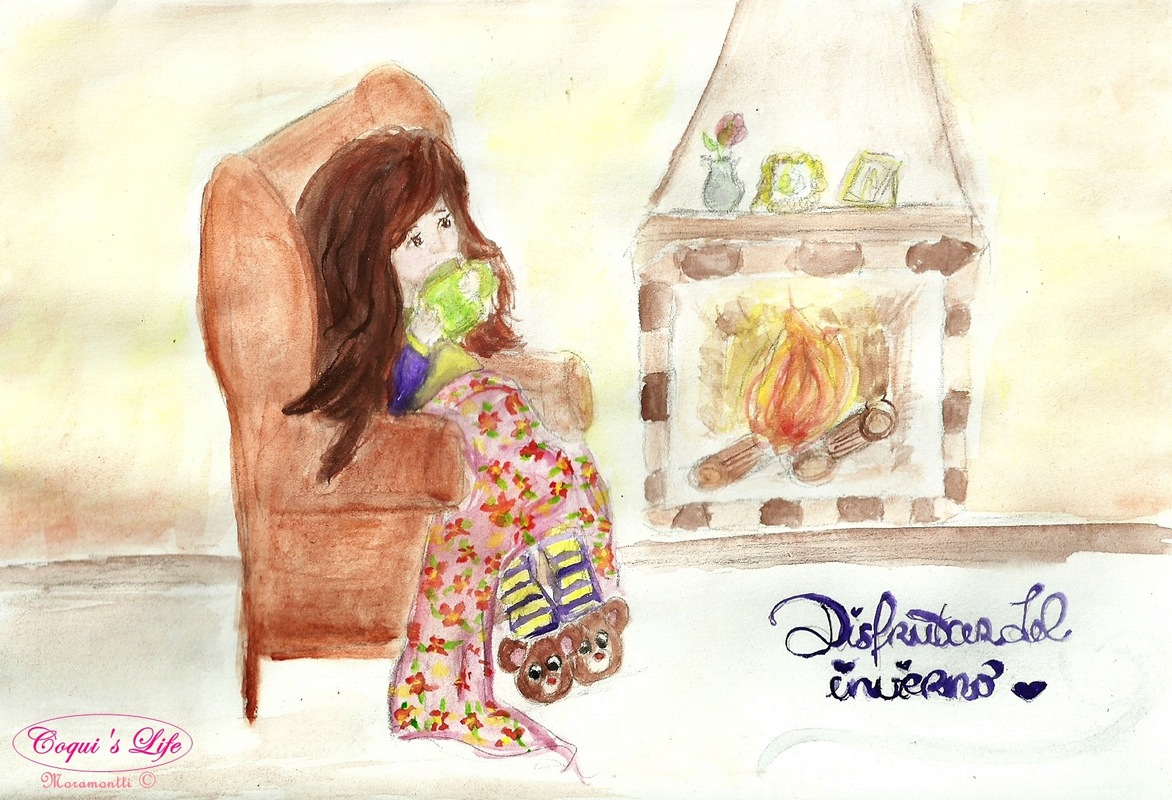 Moramonttis Illustrations - Disfrutar del invierno!