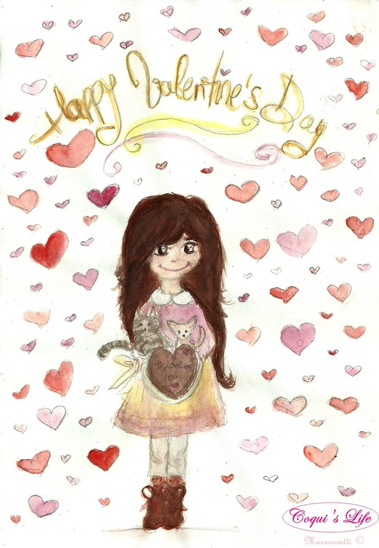 Moramonttis Illustrations - Feliz San Valentín!