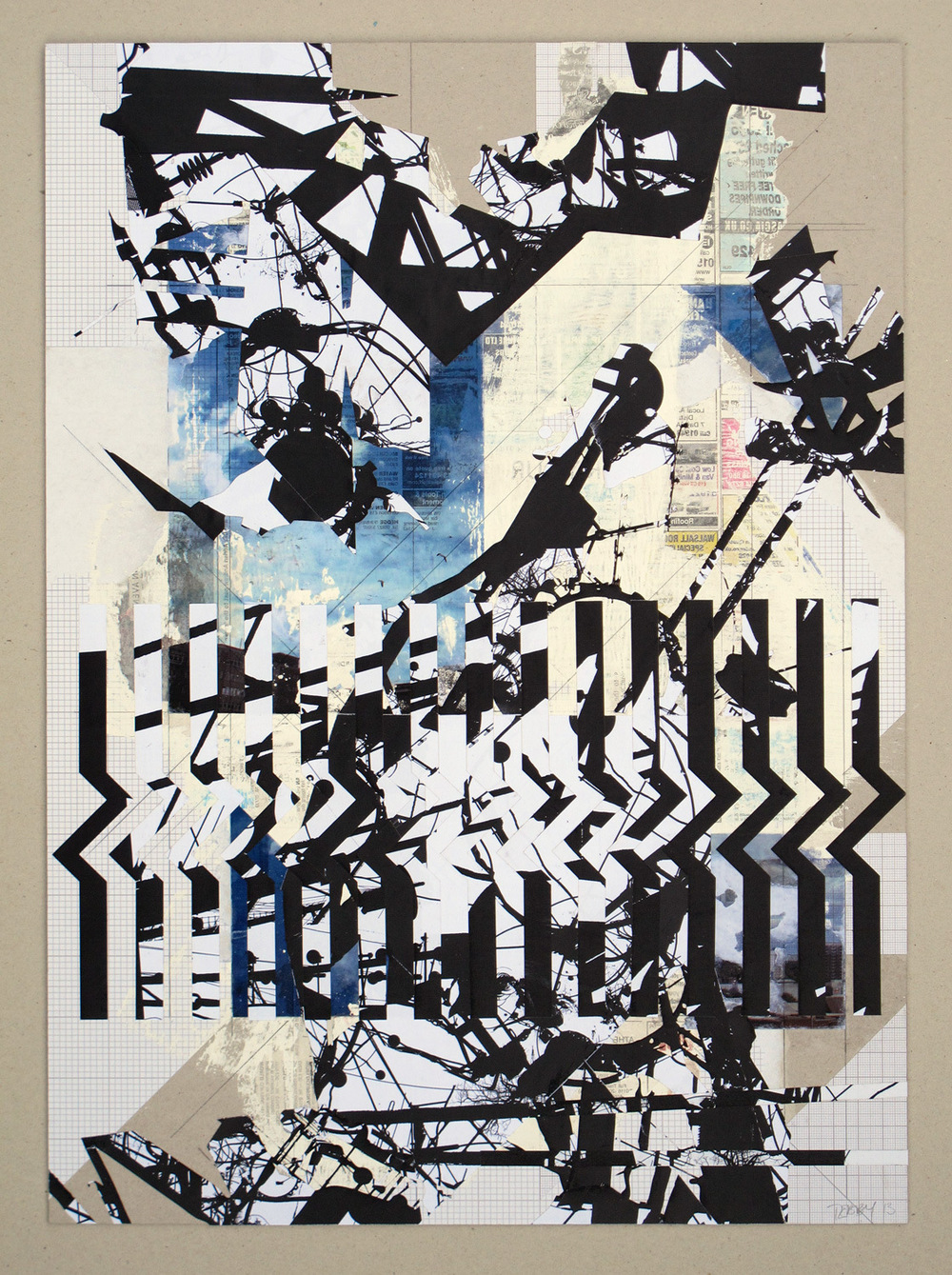 Tom Tebby Visual Artist - Indeterminate Elements No.5