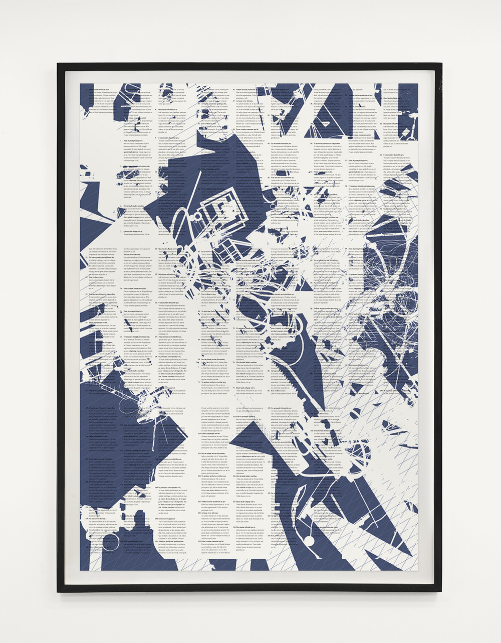 Tom Tebby Visual Artist - Untitled with textDigital print on archival paper. 78 x 58cm