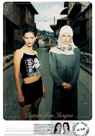 Anur Hadziomerspahic - Postcard from Sarajevo