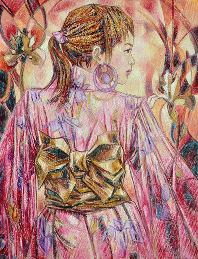 IXIA Artiste - Iris 50 x 65 cm 2013