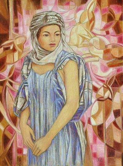 IXIA Artiste - Douceur mauresque 60 x 81 cm 2011