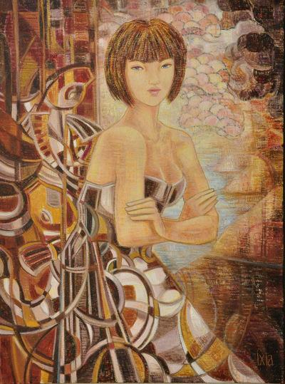 IXIA Artiste - Sirène 60 x 81 cm 2012