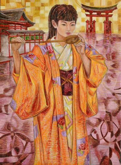 IXIA Artiste - Miyajima 73 x 100 cm 2012