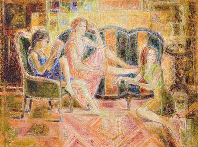 IXIA Artiste - Trois soeurs 130 x 97 cm 2015