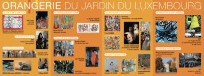 IXIA Artiste - Programme Exposition personnelle Transpositions : un voyage féminin Orangerie du Sénat, Jardin du Luxembourg, Paris. 2015