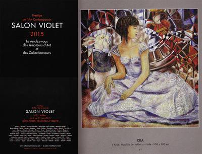 IXIA Artiste - Catalogue du 63e Salon Violet. 2015 http://www.salon-violet.odavia.com/