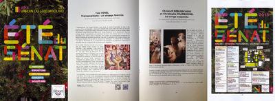 IXIA Artiste - Dossier de presse Exposition personnelle Transpositions : un voyage féminin Orangerie du Sénat, Jardin du Luxembourg, Paris. 2015
