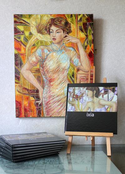 IXIA Artiste - Premier livre édité à loccasion des 10 ans de parcours dIxia 2003-2013 100 pages 2013