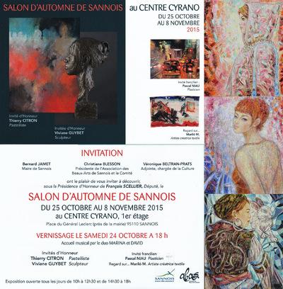 IXIA Artiste - Salon dautomne de Sannois Octobre-novembre 2015