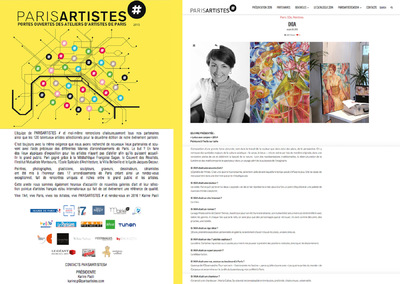 IXIA Artiste - PARISARTISTES# 2015 Mairie du 9e Paris Octobre 2015