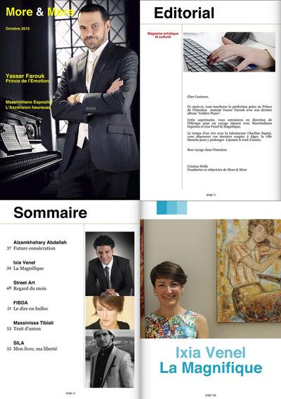 IXIA Artiste - MORE & MORE Octobre 2015 Partie I