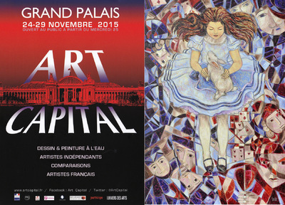IXIA Artiste - ART CAPITAL Salon des Artistes Français Novembre 2015