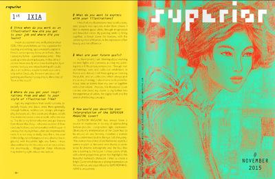 IXIA Artiste - Ixia remporte le concours organisé par le magazine SUPERIOR pour illustrer la couverture du numéro de Novembre 2015 http://issuu.com/superiormagazine/docs/superior_magazine_november_2015/1?e=3212701/31170740