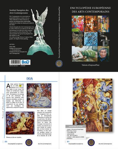 IXIA Artiste - Encyclopédie Européenne des Arts Contemporains - Talent dAujourdhui 2015