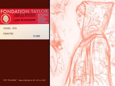 IXIA Artiste - Ixia, membre de la Fondation Taylor http://www.taylor.fr/