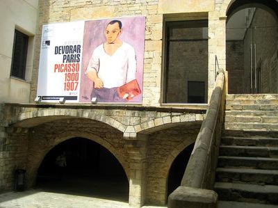 IXIA Artiste - Exposition Devorar Paris Musée Picasso, Barcelone 2011