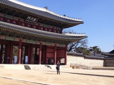 IXIA Artiste - Changdeokgung Palace, Séoul, Corée Mars 2015
