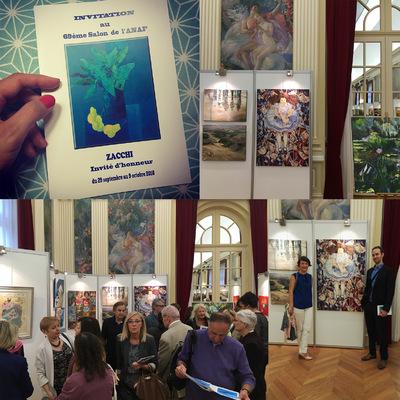 IXIA Artiste - 69ème Salon de lANAF Zacchi invité dhonneur Saint-Mandé (94) Septembre-Octobre 2016 http://anafpeintsculpt.canalblog.com