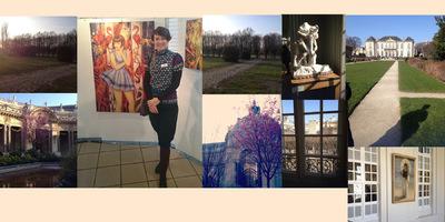 IXIA Artiste - Un week-end artistique qui sent le printemps ! Salon de Mennecy (91), Musée Rodin et Petit Palais (Paris) Mars 2016