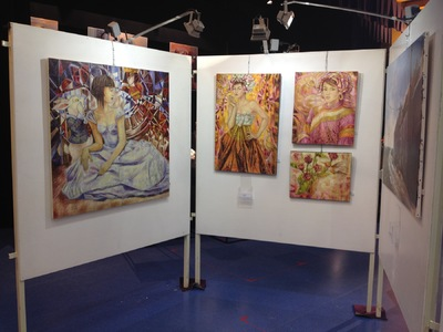IXIA Artiste - Exposition Annet-sur-Marne (77) Novembre 2015