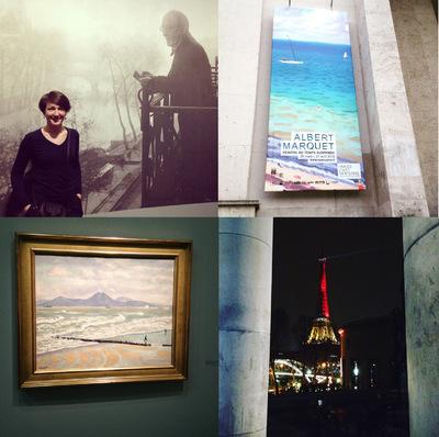 IXIA Artiste - Peintre du temps suspendu, rétrospective Albert Marquet Musée dart moderne de la ville de Paris Mars 2016
