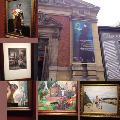 IXIA Artiste - Chefs doeuvre de Budapest Musée du Luxembourg, Paris Mars 2016 Goya, Van Gogh, Gauguin, Monet, Von Stuck