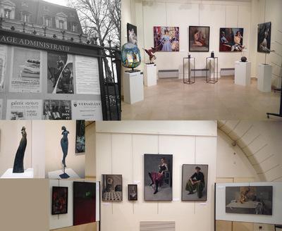 IXIA Artiste - 2e Biennale Versaillaise, 78 Invités dhonneur : François Legrand (peinture) et Aelle (sculpture) Avril 2016 http://biennale-versaillaise.fr/