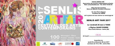 IXIA Artiste - Senlis Art Fair 2017 Du 25 au 28 mai Oise, 60