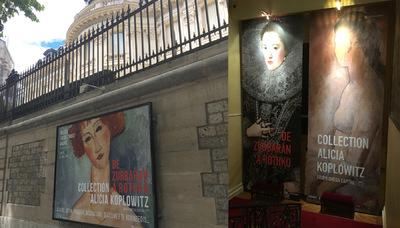 IXIA Artiste - Exposition De Zurbarán à Rothko Collection Alicia Koplowitz Musée Jacquemart-André, Paris 2017
