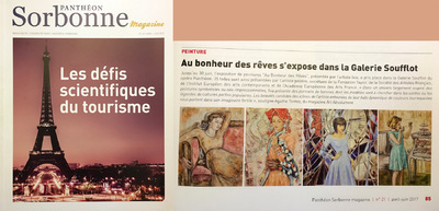IXIA Artiste - Panthéon Sorbonne magazine n°21 Avril - juin 2017