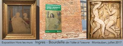 IXIA Artiste - Expo hors les murs Bourdelle et Ingres. Montauban, juillet 2017.