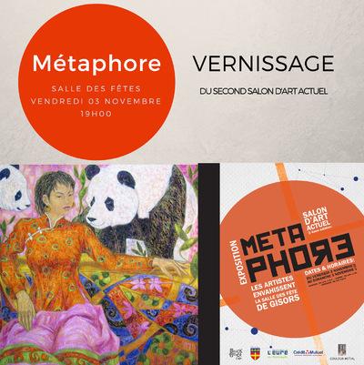 IXIA Artiste - Nouvelle édition de Métaphore Salle des fêtes de GISORS Novembre 2017