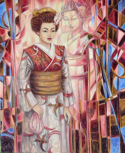 IXIA Artiste - Mémoires dune Maïko 81 x 100 cm 2011